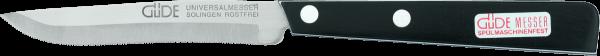 Güde Univeralmesser, Küchenfreund, schwarz / weiß