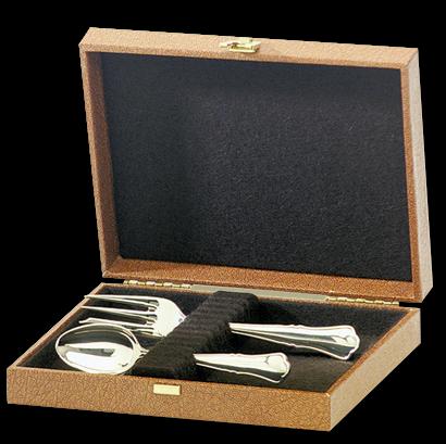 Albec Kleines Etui für 12 Messer/ Dessertmesser