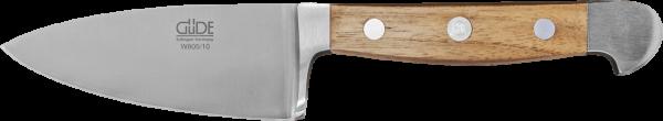 Güde Hartkäsemesser 10 cm, Alpha Walnuss