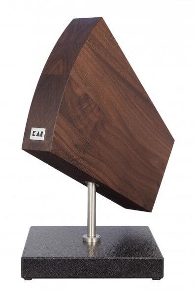 KAI SHUN Messerblock Walnuss, drehbar/Granitsockel (DM-0799)