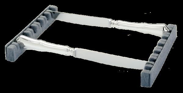 Albec Doppelhalter für 12 Messer, einfache Art