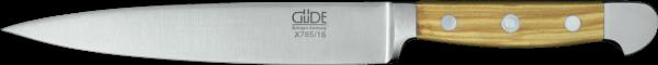 Güde Filiermesser 18 cm, Alpha Olive
