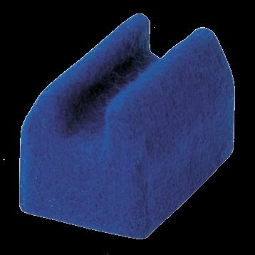 Albec Besteckhalter für 1 Teil mit Federung, 15 mm, hoch