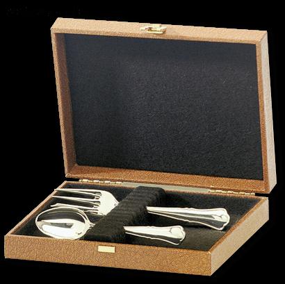 Albec de Luxe Etui für 12 Löffel oder 12 Gabeln