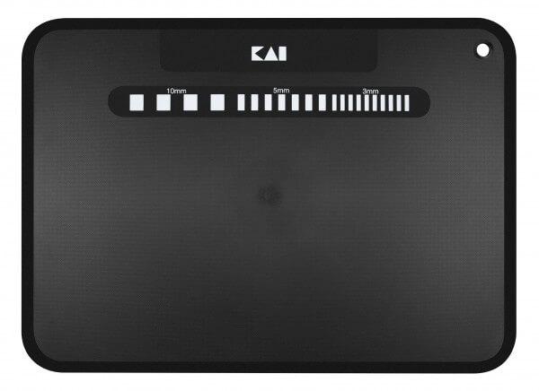 KAI Schneidmatte, schwarz 37 x 27 x 0,2 cm (BZ-0043)