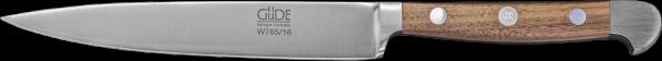 Güde Zubereitungsmesser 16 cm, Alpha Walnuss