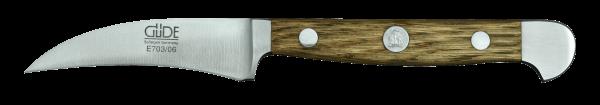 Güde Schälmesser 6 cm, Alpha Fasseiche