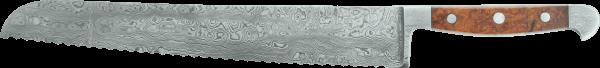 """Güde Brotmesser """"Franz Güde"""" 32 cm, Damast-Stahl"""