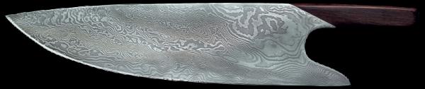 Güde THE KNIFE Kochmesser 26 cm, Damast-Stahl
