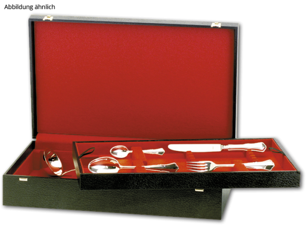Albec de Luxe Etui für 42 Teile, 6 Bestecke 5-tlg.,12 Vorlegeteile