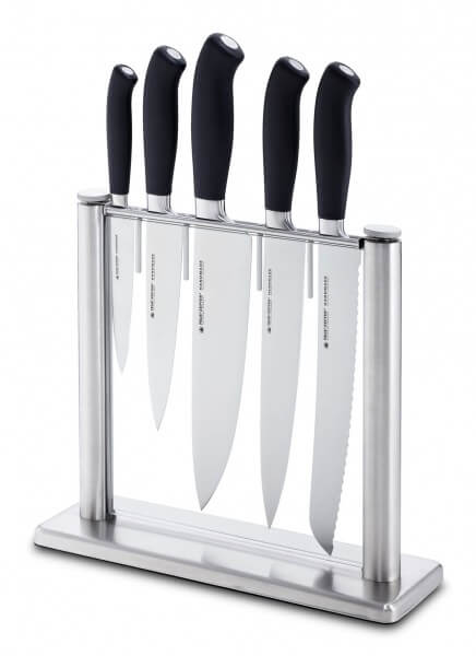 Felix Messerblock-Set, 6-teilig, PLATINUM