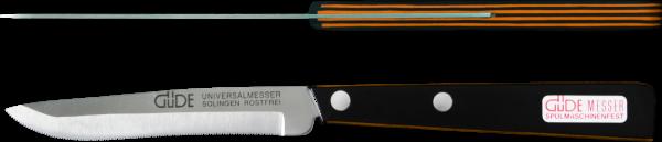 Güde Universalmesser schwarz / orange