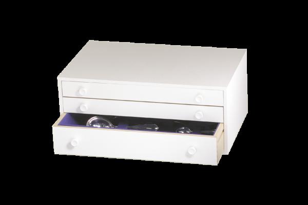 Albec Besteckschrank Standard, 128 Teile