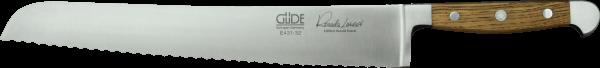 """Güde Brotmesser """"Franz Güde"""" 32 cm, Alpha Fasseiche, Linkshänderausführung"""