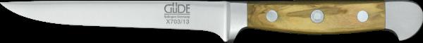 Güde Ausbeinmesser 13 cm, flex., Alpha Olive