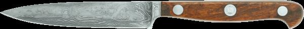 Güde Spickmesser 10 cm, Damast-Stahl