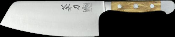 Güde Chai Dao 16 cm, chinesisches Kochmesser, Alpha Olive